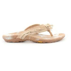 Abeo Thong Slides Sandals Metallic  8 ($ ) 94